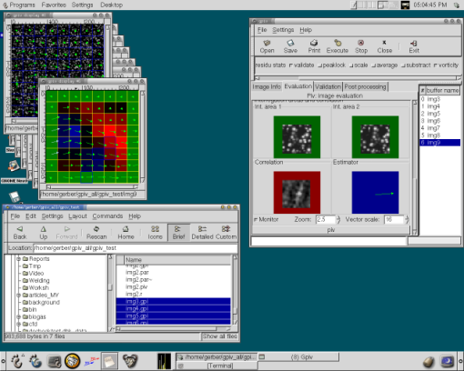 screenshot Gpiv